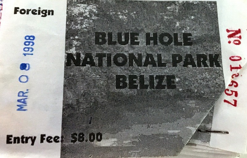 Blue Hole National Park ticket