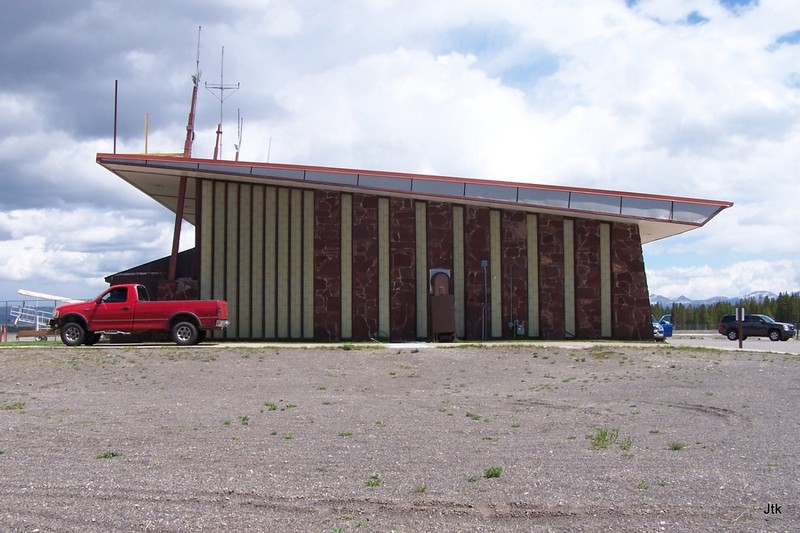 J's photo of the Yellowstone Airport building