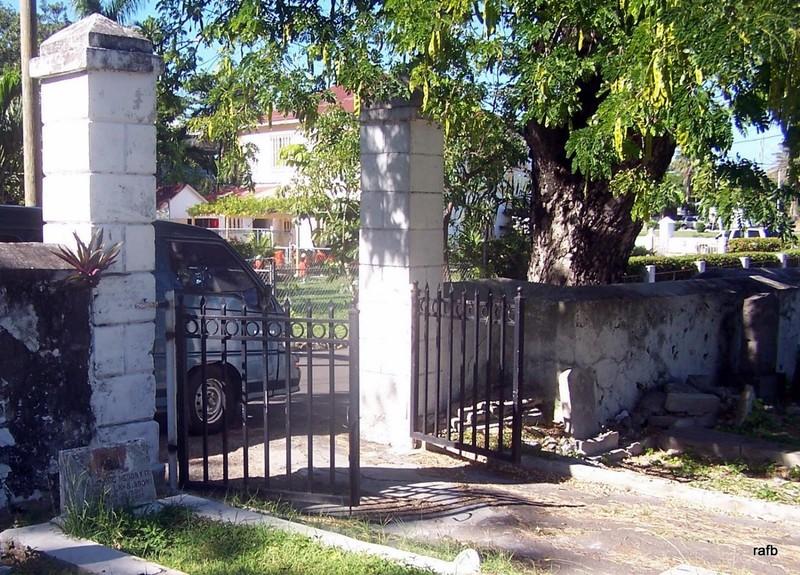 Eastern Cemetery gate
