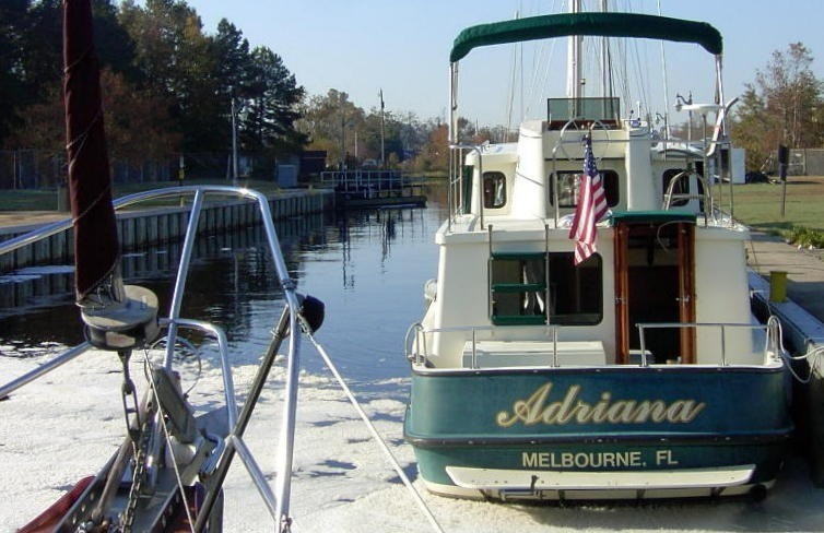 ADRIANA in the lock