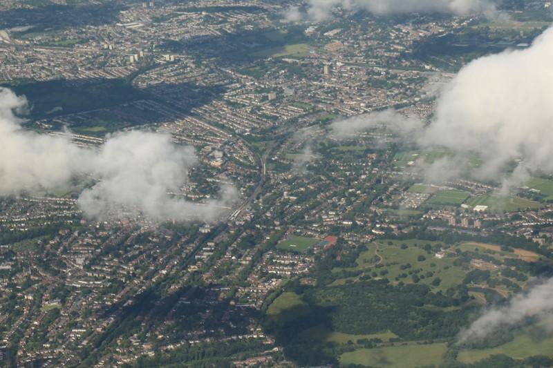 Landing Heathrow