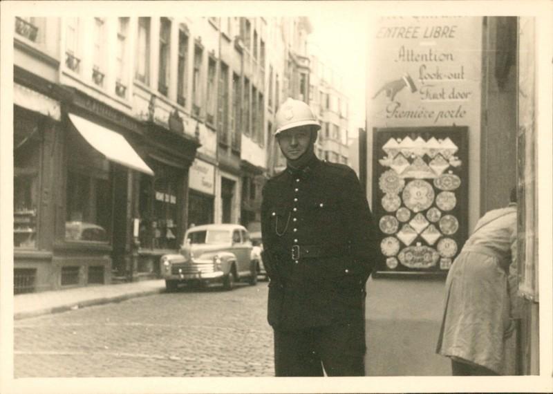Brussels policeman