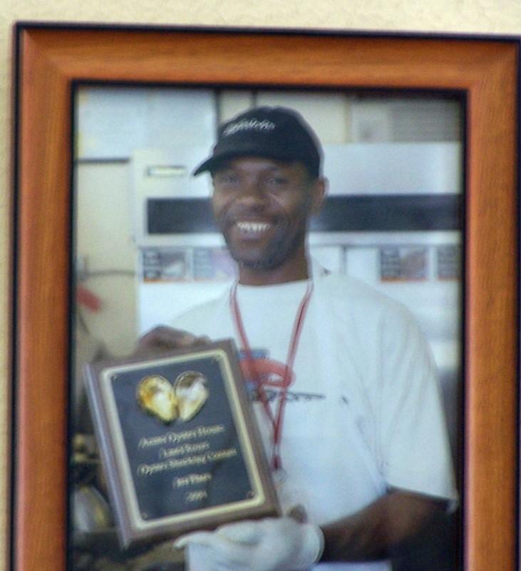 Champion Oyster Shucker