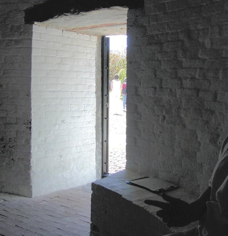 Depth of the lighthouse door