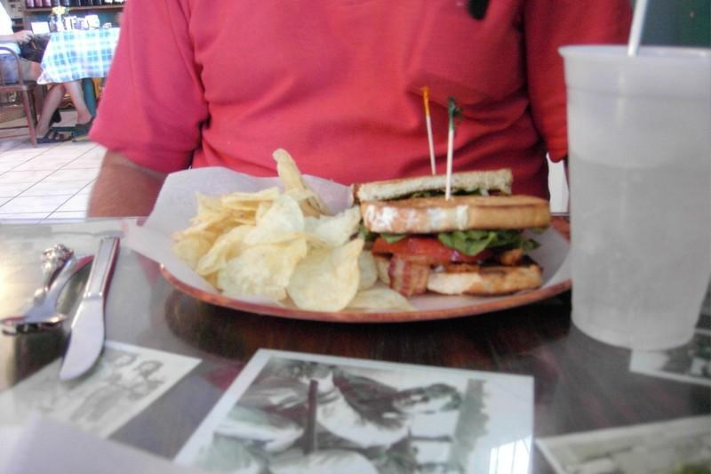 Bob's BLT sandwich