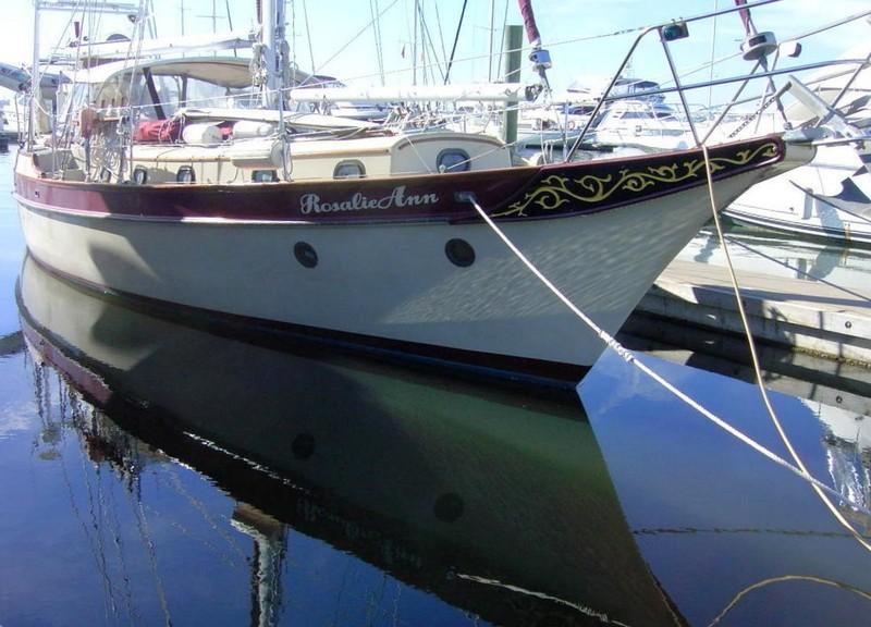 RosalieAnn at the dock
