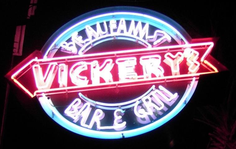 Vickery sign