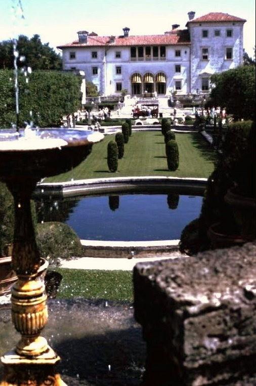 Vizcaya South Terrace in 1967