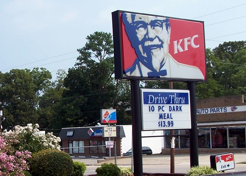 KFC for lunch
