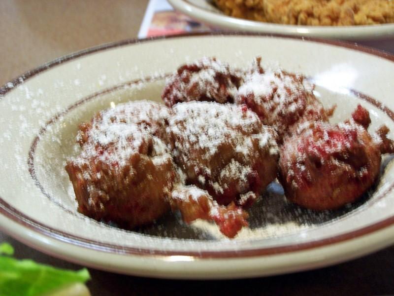 Strawberry pan pups