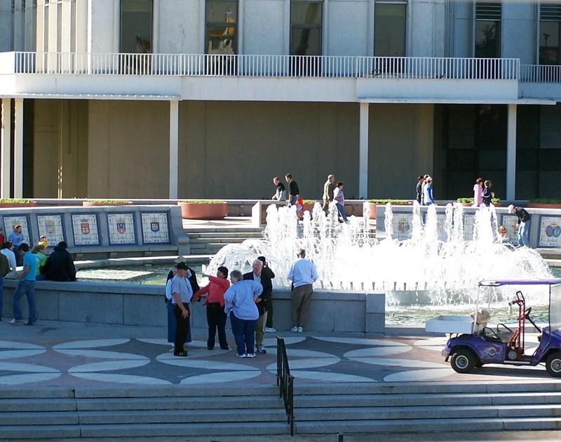 Plaza de Espana from the boat
