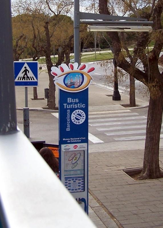 Blue Route stop
