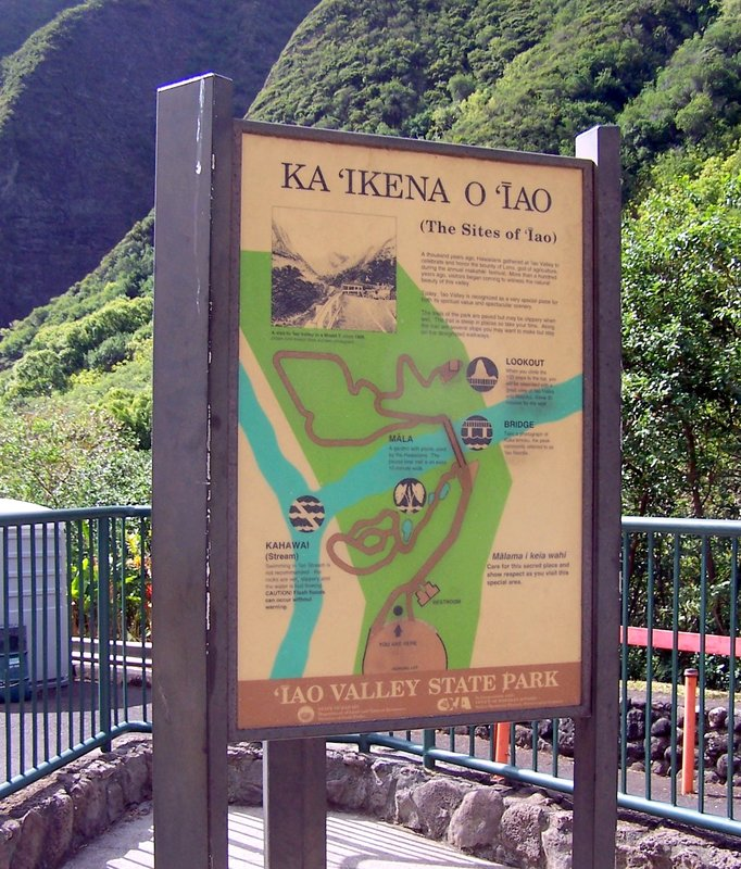 Io Valley sign