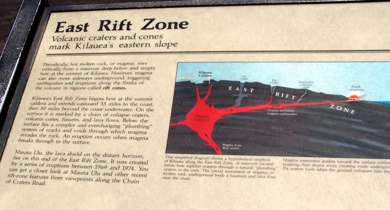 Eastern Rift zone