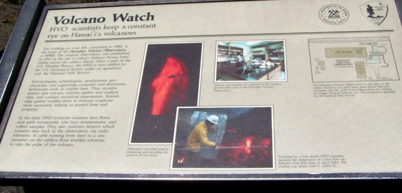 Volcano watch