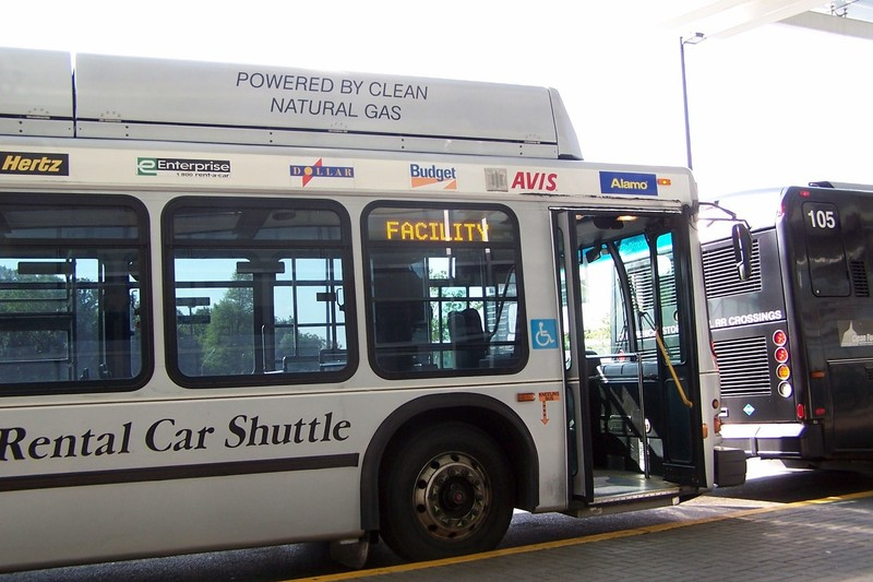 Rental car shuttle