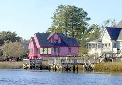 The Really Pink House