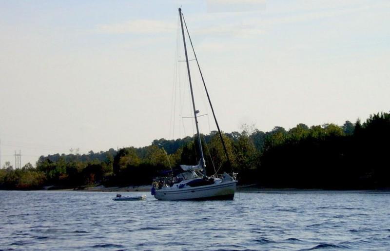 BONNIE CHRISTINE aground