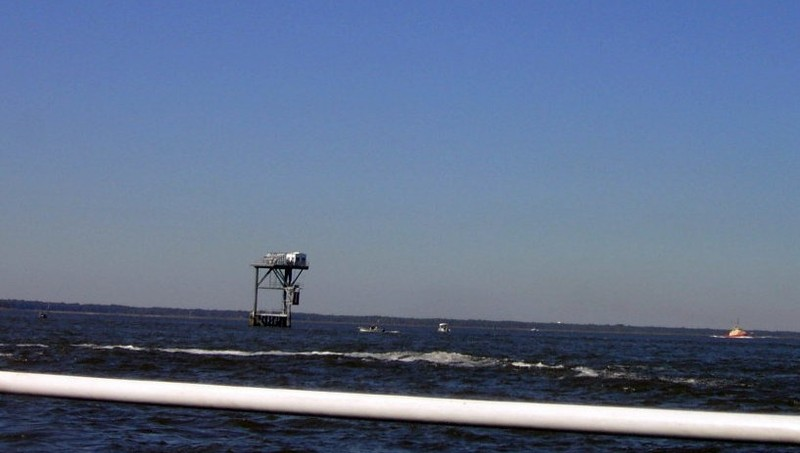 Range marker in the channel