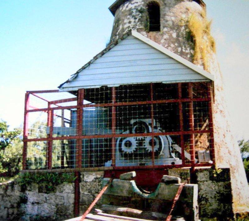 Morgan Lewis Mill machinery