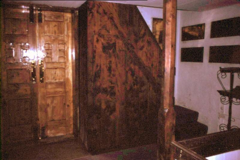 Bermuda Cedar woodwork