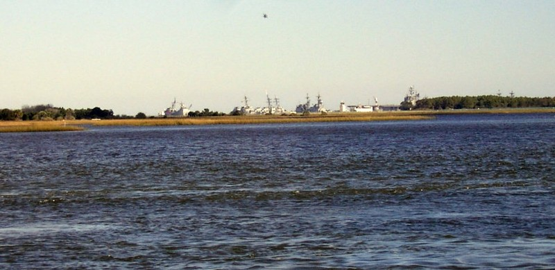 Ships at Mayport