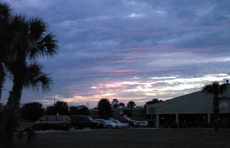 Sunset at Beach Marine