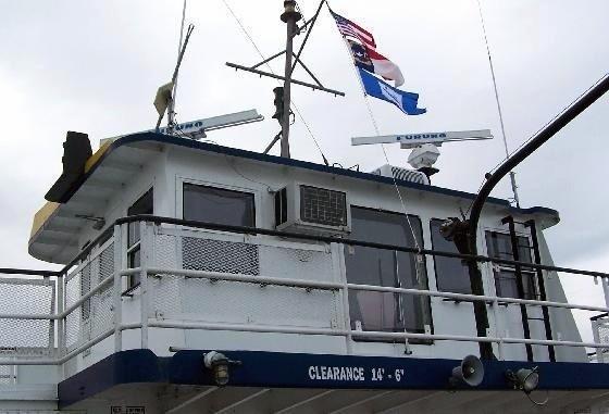 Ferry pilot house