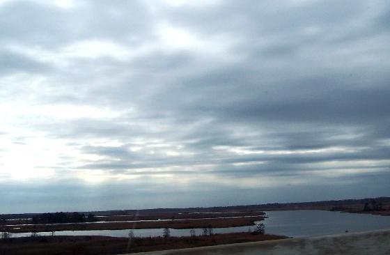 Lowering skies