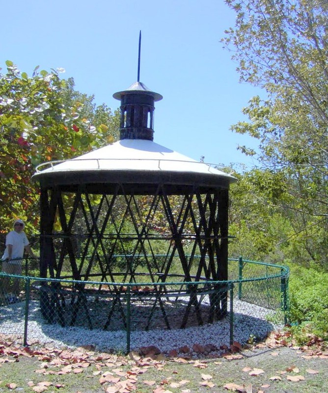 Old light structure
