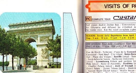 1964 Brochure_for_tour-Paris