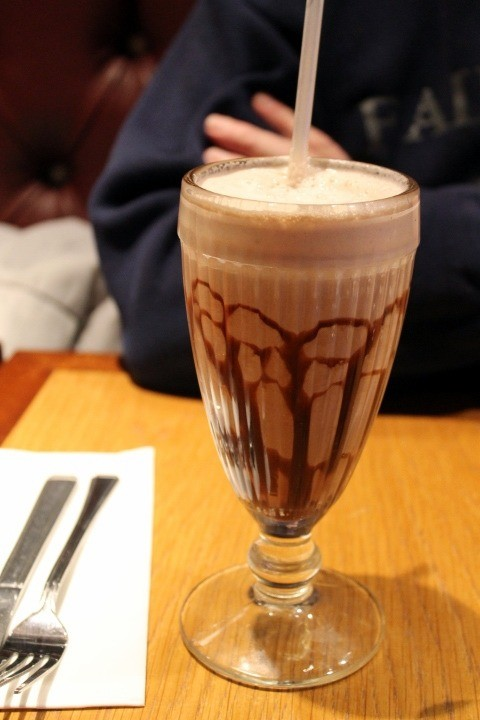 Bob's milkshake £3.95