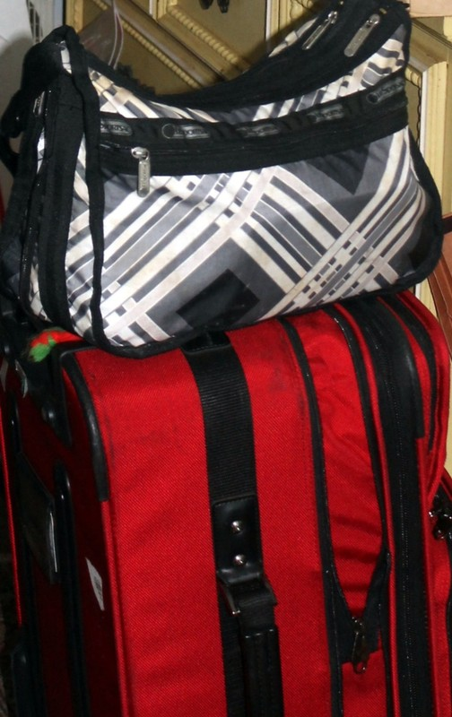 My suitcase and pocketbook
