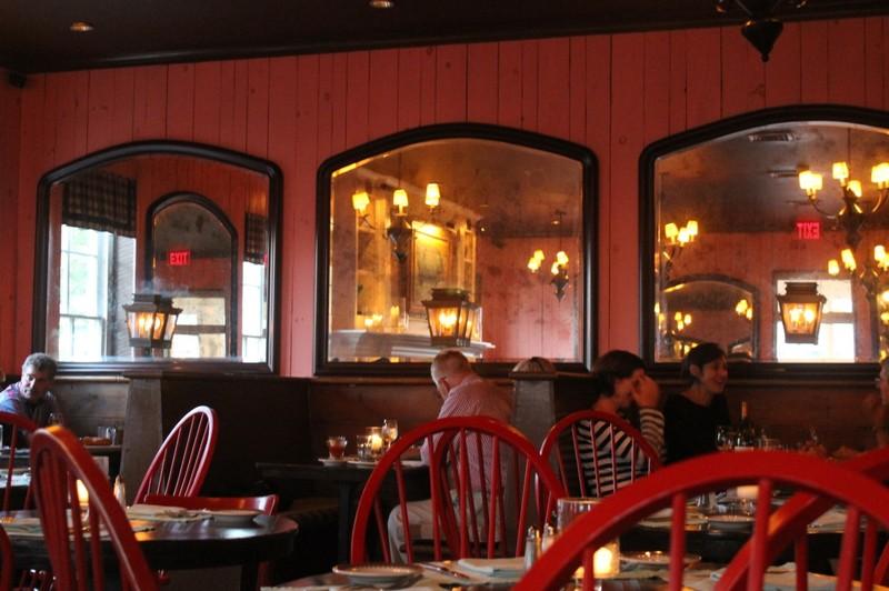 Blue Pig restaurant