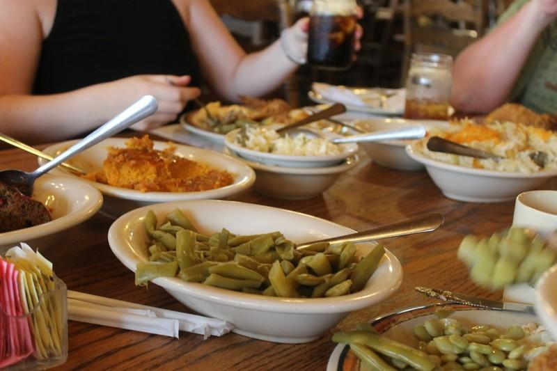 Dishes to pass around