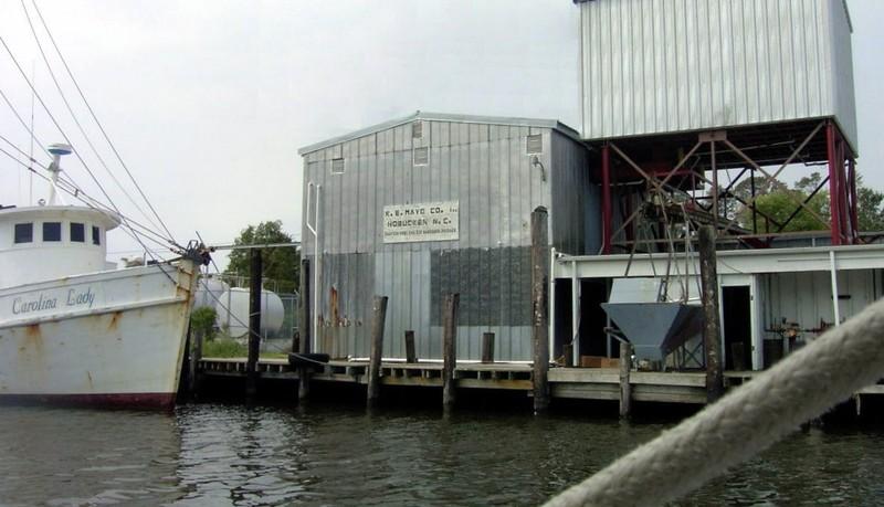 R.E. Mayo docks