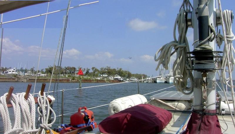 Approaching Sneads Ferry