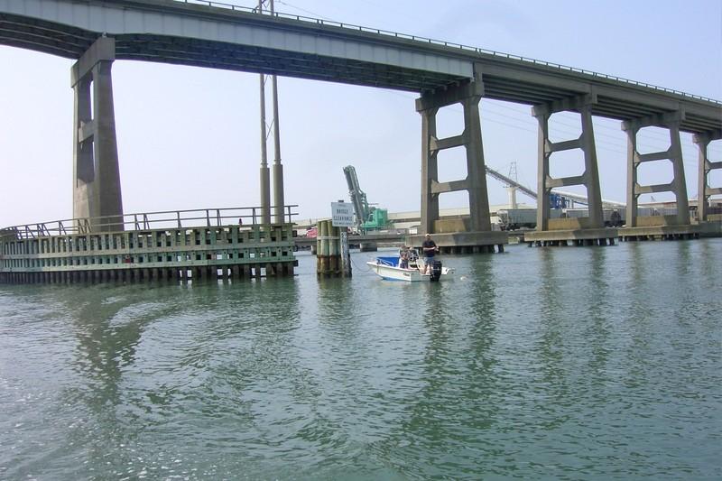Morehead City fixed bridge