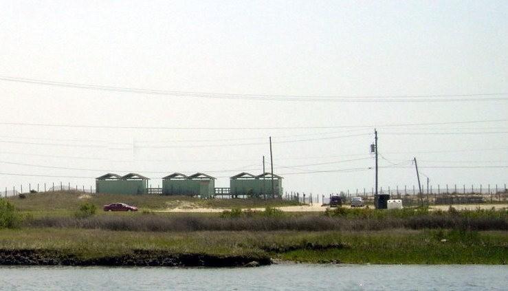 Beach area on the east