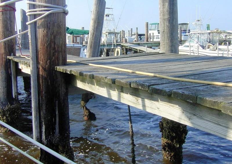 Docks at Dudley's Marina