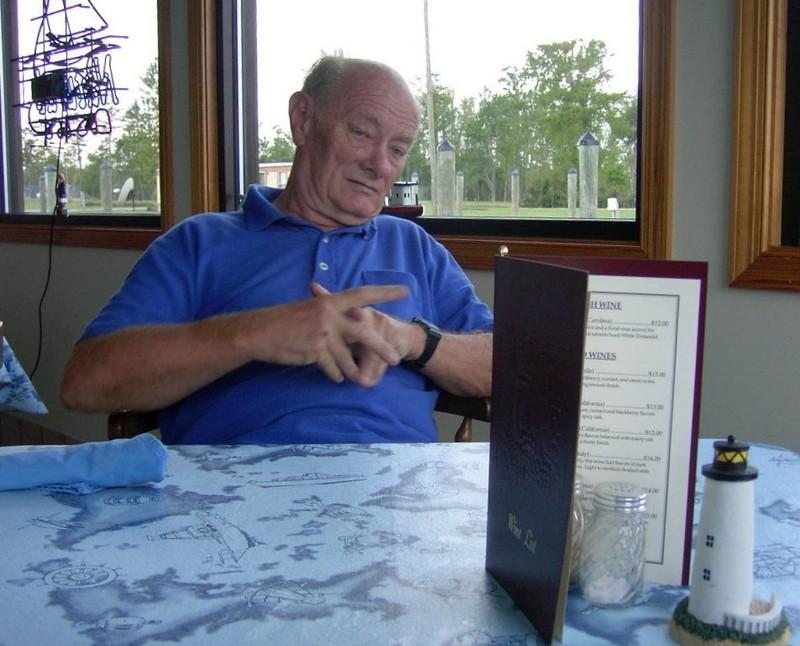 Bob in the restaurant