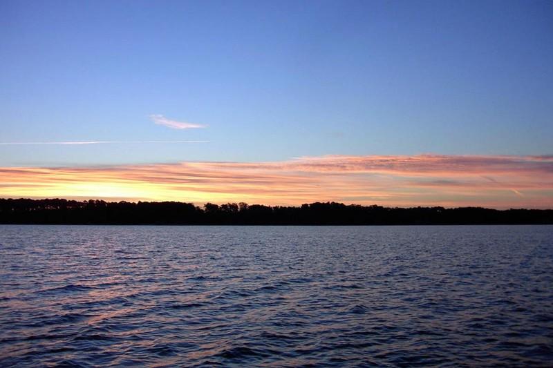 Sunrise over Gwynn Island