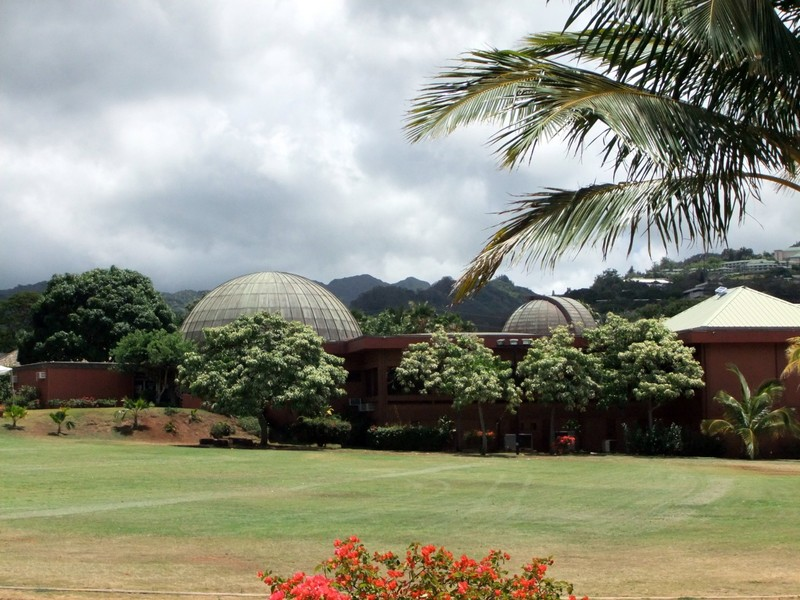 Planetarium in Bishop Museum grounds