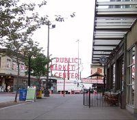 Approaching Pike Street Market 2011 - Seattle