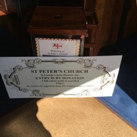 St Peter's Donation box