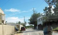Road in Cattlewash area - Barbados