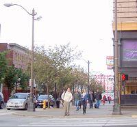 Pike Street in Seattle - Washington State