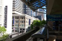 Waiting for the monorail - Seattle
