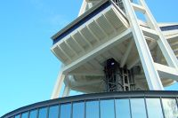 Bottom of the Space Needle - Seattle