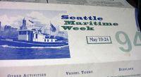 Maritime Week folder - Seattle